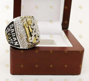 Alabama Crimson Tide College Football Ring (2018) - Nick Saban