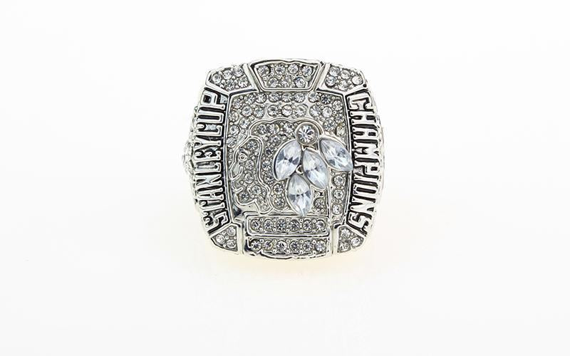 Chicago Blackhawks Stanley Cup Ring (2015) - NHL - Championship Flagz For Fans