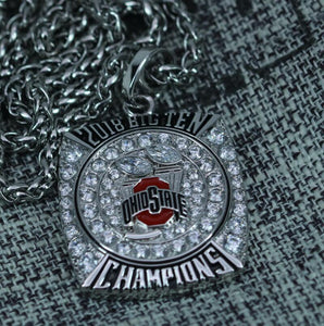 SPECIAL EDITION Ohio State Buckeyes Big 10 Rose Bowl Championship Pendant (2018) - Premium Series