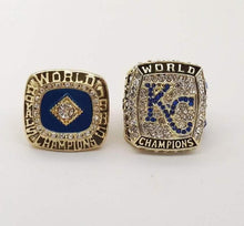 Load image into Gallery viewer, Kansas City Royals World Series Rings (1985, 2015) Set
