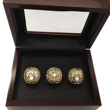 Load image into Gallery viewer, Alabama Crimson Tide College Football National Championship Ring Set (1973, 1978, 1979) - NCAA - Championship Flagz For Fans