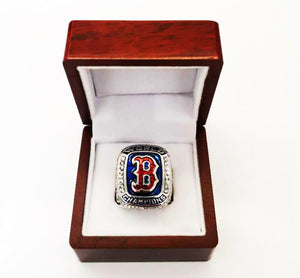 Boston Red Sox World Series Rings (2018)