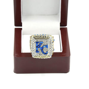 Kansas City Royals World Series Ring (2015) - MLB - Championship Flagz For Fans