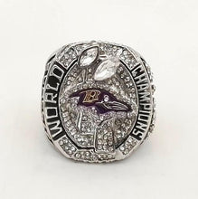 Load image into Gallery viewer, Baltimore Ravens Super Bowl Ring (2012) - NFL - Championship Flagz For Fans