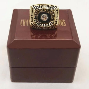 Pittsburgh Steelers Super Bowl Ring (1974) - NFL - Championship Flagz For Fans