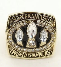 Load image into Gallery viewer, San Francisco 49ers Super Bowl Ring (1988) - NFL - Championship Flagz For Fans
