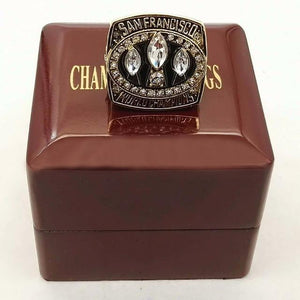 San Francisco 49ers Super Bowl Ring (1988) - NFL - Championship Flagz For Fans