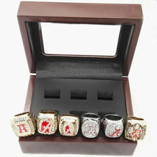 Load image into Gallery viewer, Alabama Crimson Tide College Football Championship Ring Set (1992, 2009, 2011, 2012, 2015, 2015) - NCAA - Championship Flagz For Fans