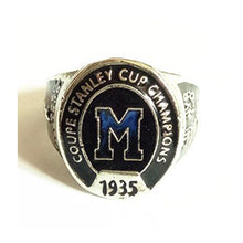 Load image into Gallery viewer, Montreal Maroons Stanley Cup Ring (1935)