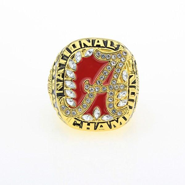Alabama Crimson Tide College Football National Championship Ring (2009) - Nick Saban - NCAA - Championship Flagz For Fans