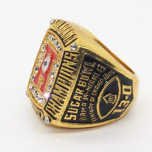 Load image into Gallery viewer, Alabama Crimson Tide College Football National Championship Ring (1992) - George Teague - NCAA - Championship Flagz For Fans