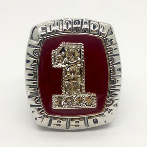 Colorado Tigers College Football National Championship Ring (1990) - NCAA - Championship Flagz For Fans