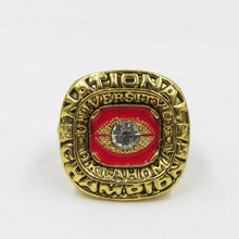 Load image into Gallery viewer, Oklahoma Sooners College Football National Championship Ring (1975) - NCAA - Championship Flagz For Fans