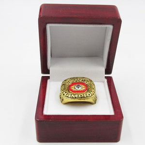 Oklahoma Sooners College Football National Championship Ring (1975) - NCAA - Championship Flagz For Fans