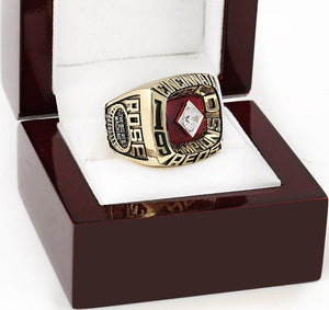 Cincinnati Reds World Series Ring (1975) - MLB - Championship Flagz For Fans