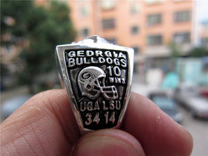 Georgia Bulldogs SEC College Football Championship Ring (2005)