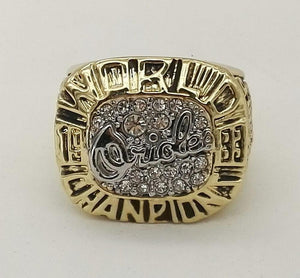 Baltimore Orioles World Series Ring (1983)