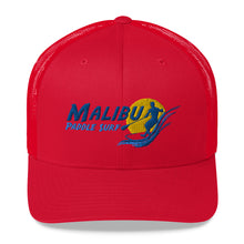 Load image into Gallery viewer, Malibu Paddle Surf Trucker Cap Pink White Black Tan Red Blue Green