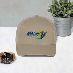 Malibu Paddle Surf Trucker Cap Beach Surfing Malibu, California