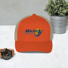 Load image into Gallery viewer, Malibu Paddle Surf Trucker Cap Beach Surfing Malibu, California