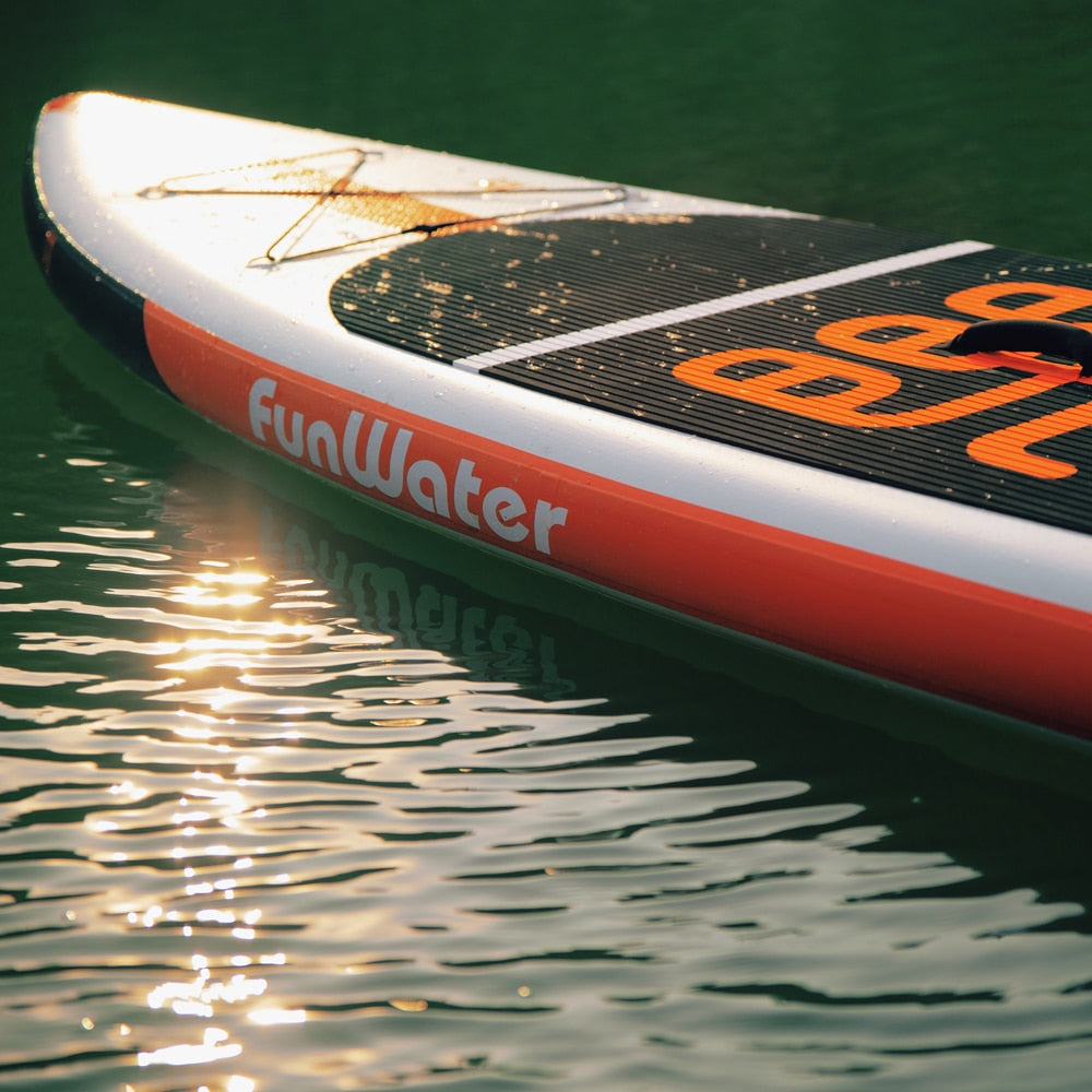 FunWater 335*84*15cm Inflatable Stand Up Paddle Board surf paddle baord sup paddle