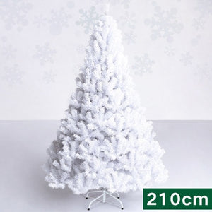 210cm Christmas tree white 2.1M artificial Christmas tree merry Christmas decorations for home Christmas ornaments