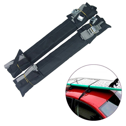 Universal Car Soft belt Roof Rack Luggage Carrier 100cm Length surfboad car roof holder perfect for holiday outgoing use