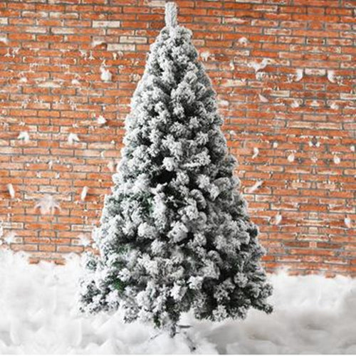 1.5M /1.8M /2.1M /2.4M encryption white simulation cedar snowflake snow flocking christmas tree christmas house home furnishi