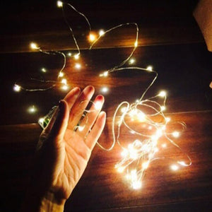 Christmas Decoration Light 3M 4M 5M Copper Wire LED String Light Wedding Garland LED Lamps Christmas Tree Ornaments Decor