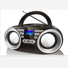 Load image into Gallery viewer, LONPOO New CD Speaker Mini Portable Bluetooth MP3 Speaker Multimedia USB FM Radio Wireless Boombox Stereo Speaker