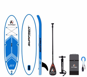 Malibu Inflatable Surf Stand Up SUP paddle board iSUP Surfing Paddleboard