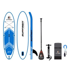 Load image into Gallery viewer, Malibu Inflatable Surf Stand Up SUP paddle board iSUP Surfing Paddleboard