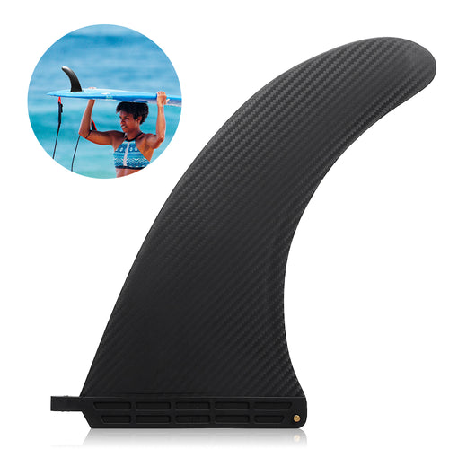 Surf Surfboard Sup Singles Fin Central Fin Nylon Longboard Surfboard Paddleboard Fin Water Sports Diving Boat Fins 6.5-10In