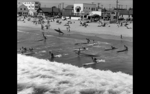 1920s Vintage Venice California Surfing Surfboard Photo Repro Surf Swim Dudes