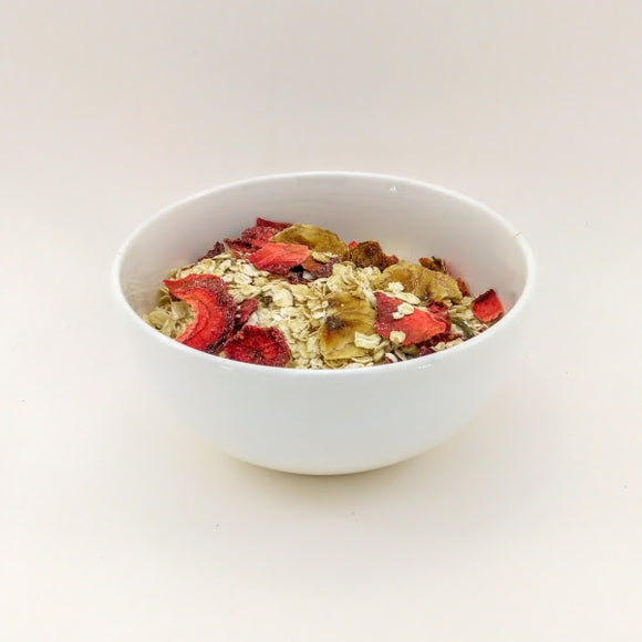Strawberry Banana Live Oatmeal