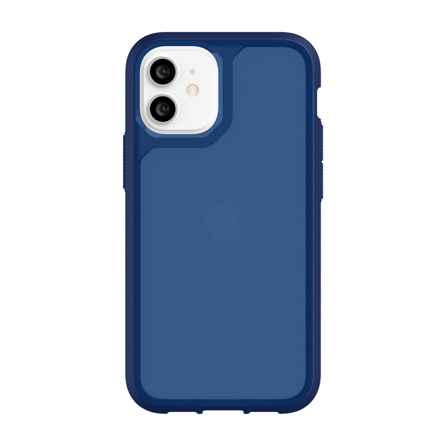 Navy/Navy | Survivor Strong for iPhone 12 mini