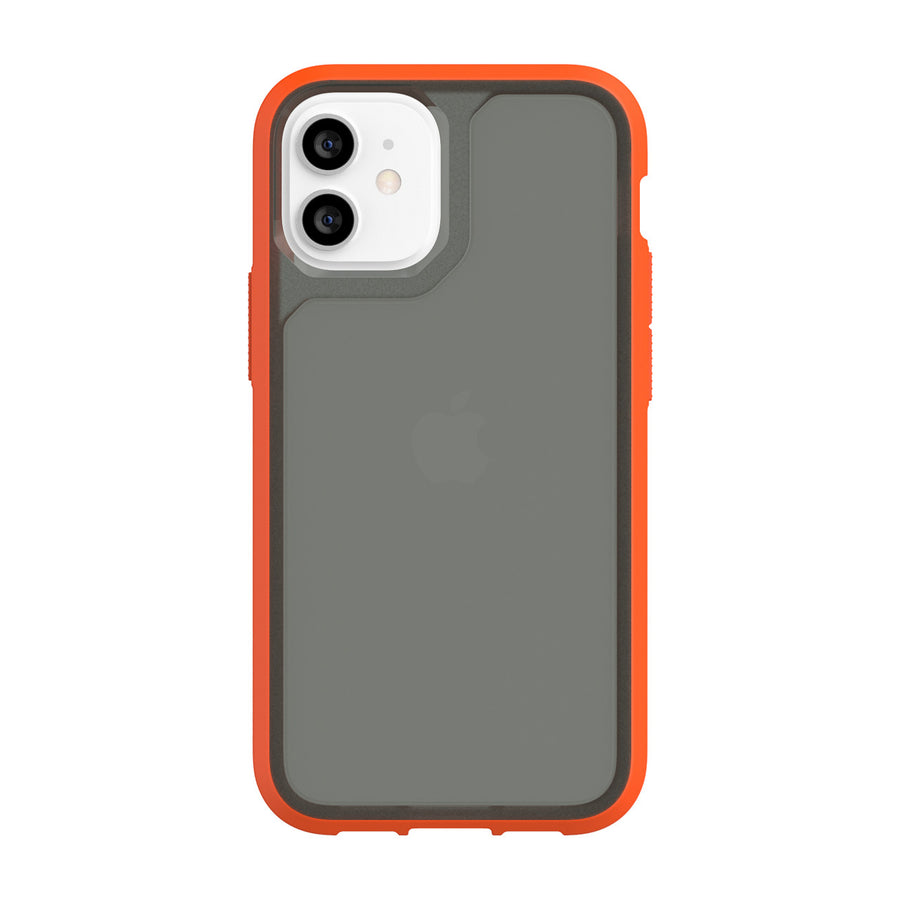 Orange/Cool Gray | Survivor Strong for iPhone 12 mini