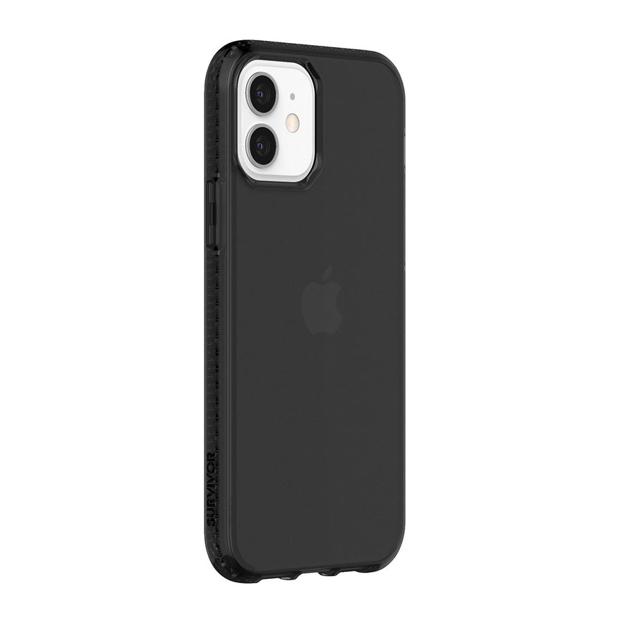Black | Survivor Clear for iPhone 12 & iPhone 12 Pro