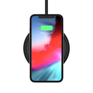 15W Wireless QI Fast Charging Pad with QC wall charger