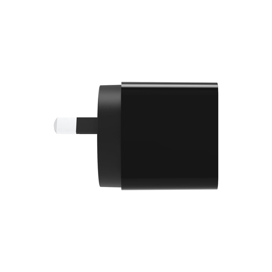 PowerBlock Dual Universal USB-A Wall Charger with USB-A to USB-C Cable