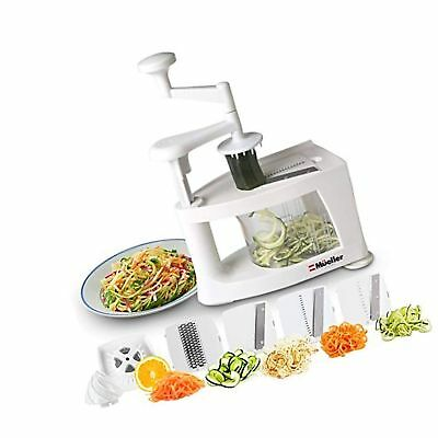 Multifunctional 8 In 1 Spiralizer Peeler