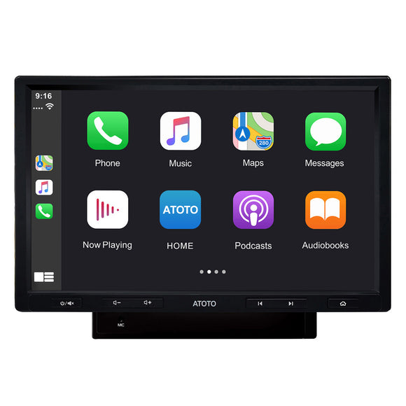 ATOTO F7G210PE 10in Floating Display in-Dash Video Receiver (This model only support selling in North America area.)
