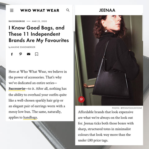 Who What Wear - Jeenaa Bags
