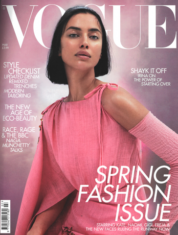 Jeenaa featured in British Vogue March 2020