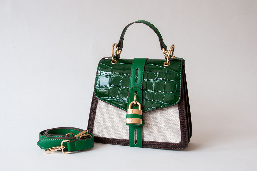 Emerald Lock Bag