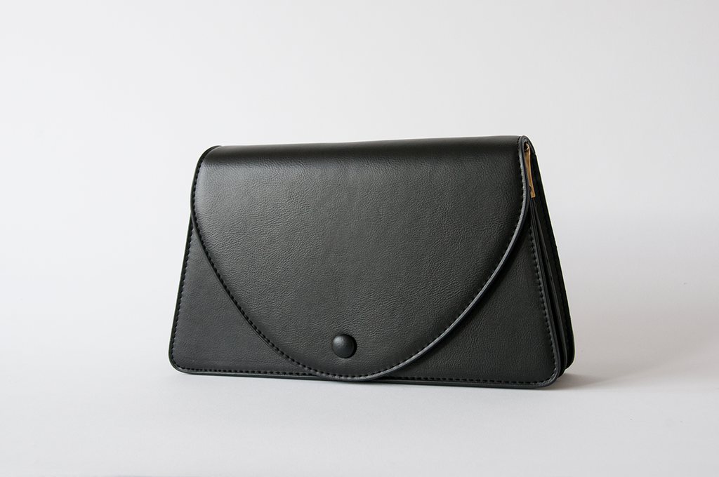 Trapezium Black Bag