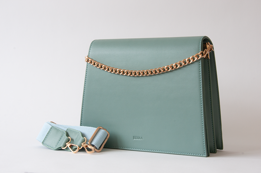 Jeele Teal Bag - Women's Handbags - Shoulder Bag