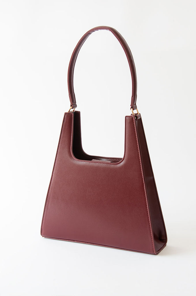 Jiyo Plum Bag