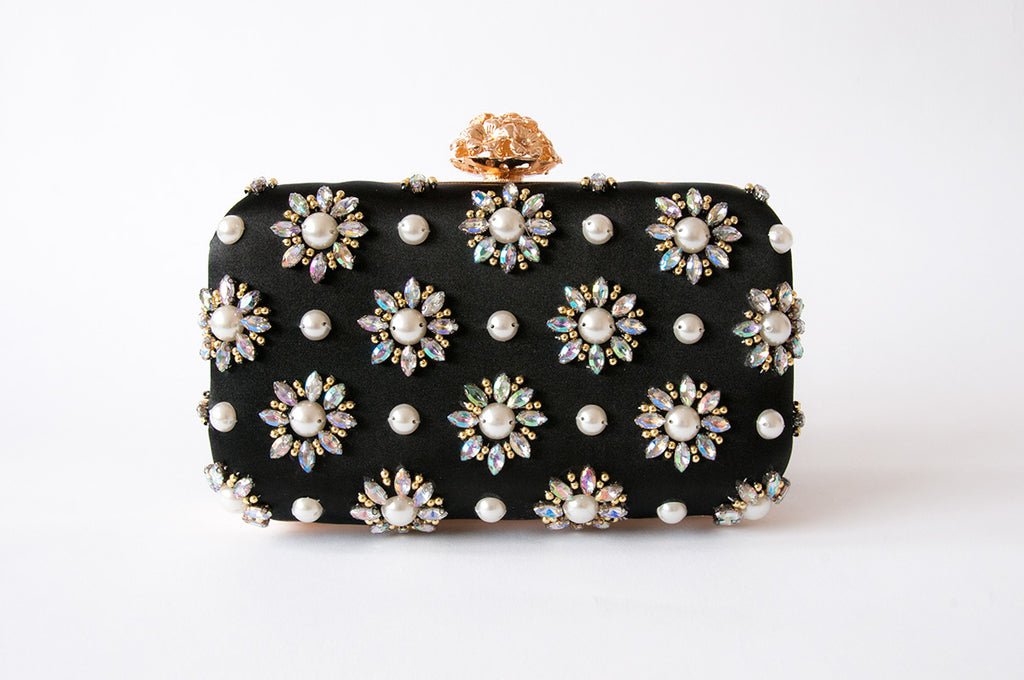 Floral Stars Clutch