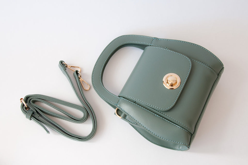 Curved Bucket Bag